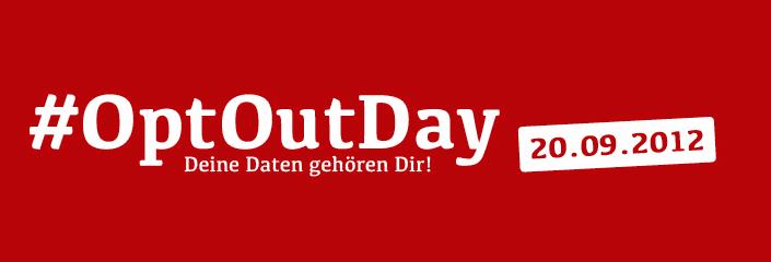 """Am kommenden Samstag stehen wir mit einem Infostand in Weißenburg an der Luitpoldstraße vor derKarmeliterkirche. Grund dafür ist der sogenannte """"OptOutDay"""". Weitere Infos unterhttp://www.optoutday.de/und in der folgenden Pressemitteilung. Piratenpartei Weißenburg-Gunzenhausen macht gegen das Meldegesetz mobil Am 20.09.2012 ruft die Piratenpartei bereits zum 3. mal zum """"OptOutDay"""" auf. Opt-Out ist ein […]"""