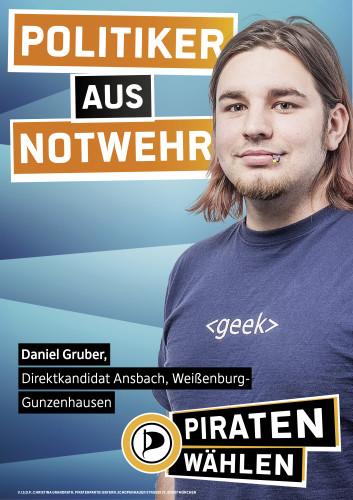 Daniel Gruber - Politiker aus Notwehr