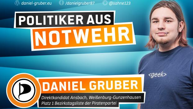 Daniel Gruber Alter: 30 Jahre Wohnort: Dorsbrunn / Nürnberg Beruf: Software-Entwicklung Daniel Gruber ist im März 1987 in Gunzenhausen geboren. Aufgewachsen ist er in Dorsbrunn, einem Ortsteil von Pleinfeld am Brombachsee. Nachdem ersein Fachabitur in Weißenburg erreicht hat, schloss er eine Ausbildungzum Fachinformatiker in Nürnberg ab. Seitdem arbeitet er in […]